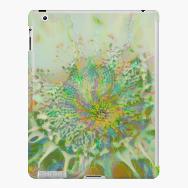 Floral abstraction iPad Snap Case