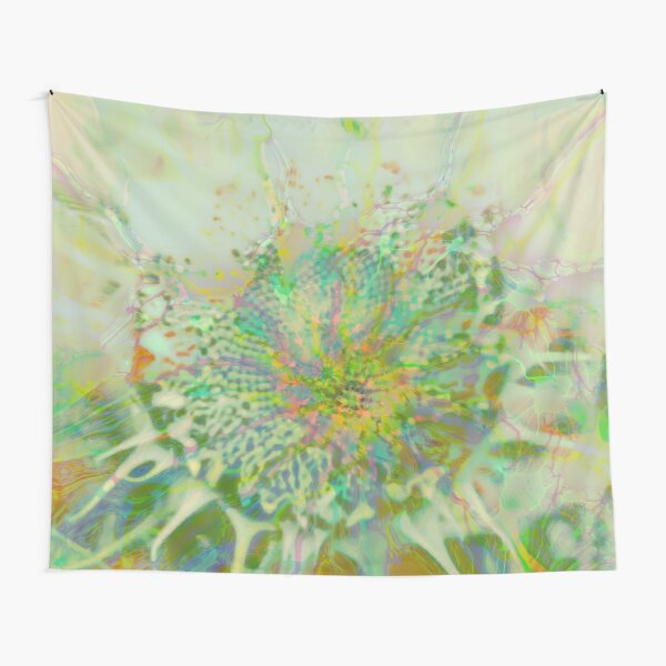 Floral abstraction Tapestry