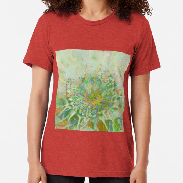 Floral abstraction Tri-blend T-Shirt