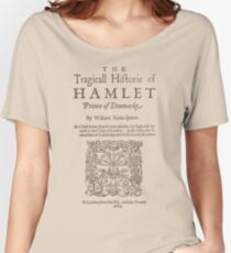 Shakespeare, Hamlet 1603 Loose Fit T-Shirt