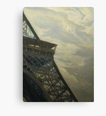 Eiffel Tower -View from Champ de Mars Canvas Print