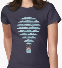 Weather Balloon Women's Fitted T-Shirt