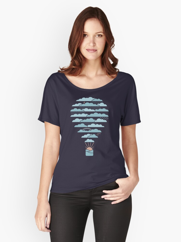 Weather Balloon Women's Relaxed Fit T-Shirt Front