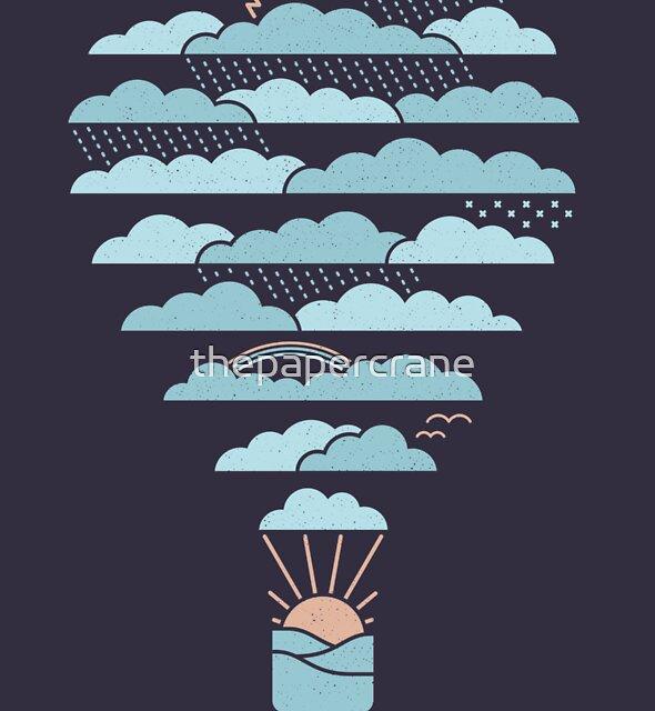 Wetter Ballon von thepapercrane