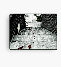 The Trail of Murder Canvas Print