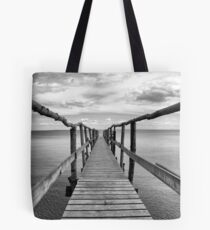 The Dark Side of the Dock Tote Bag