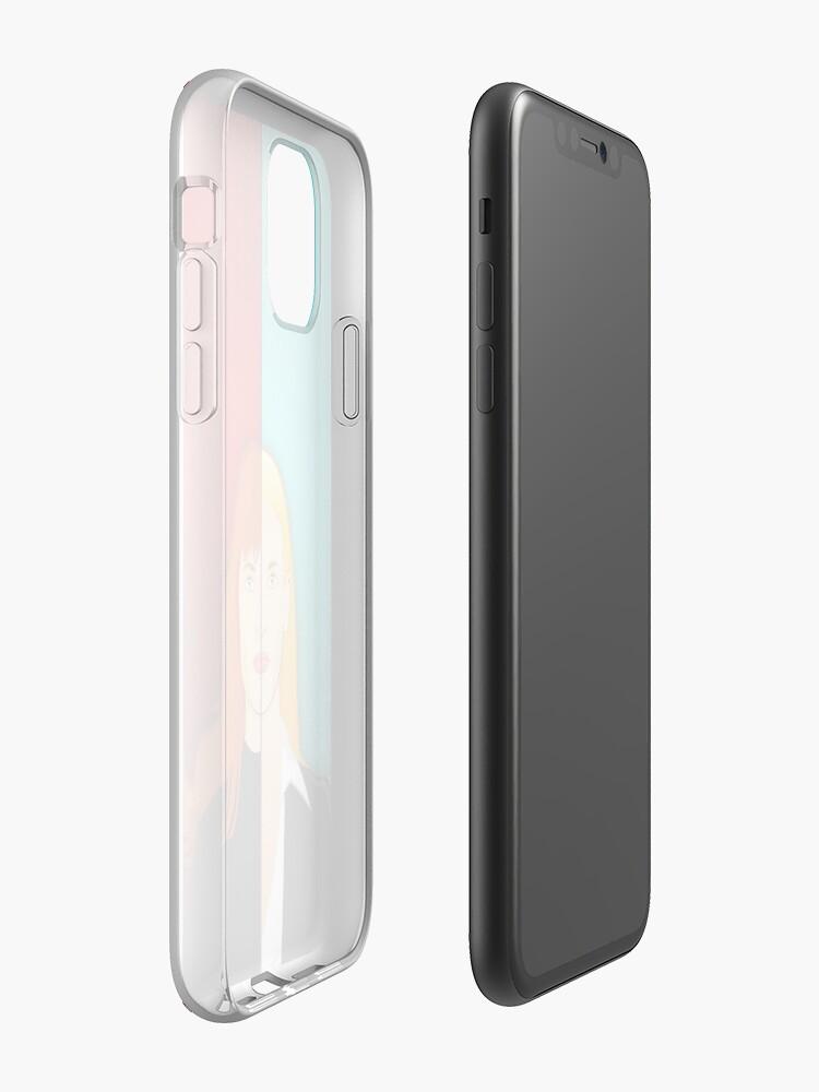 Vista alternativa de Funda y vinilo para iPhone Funda iPhone Olivia VS Fauxlivia