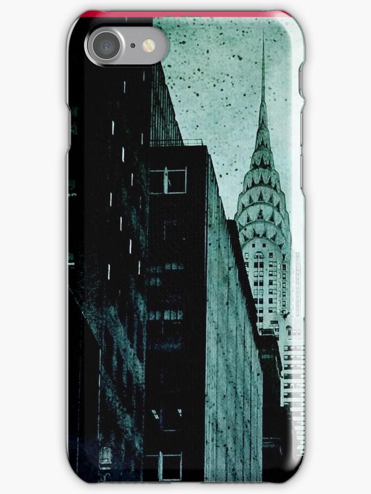 Vintage NYC Detail by Jeff Clark
