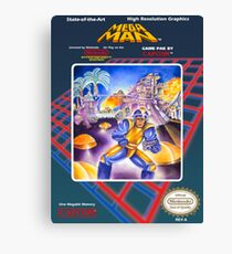 Mega Man 1 nes  Canvas Print