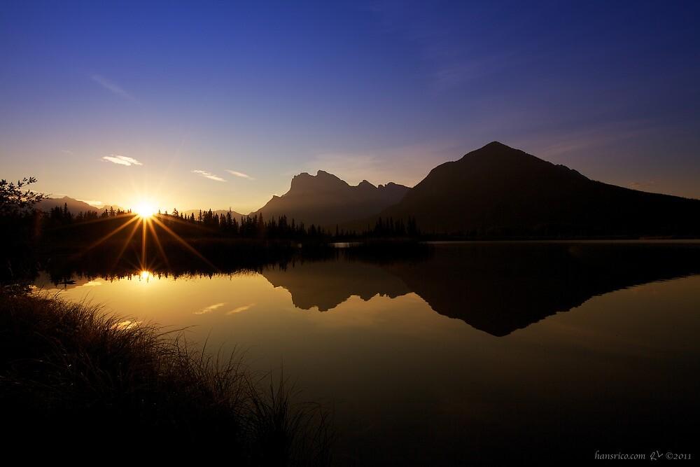 Vermillion Lakes by Rick Louie