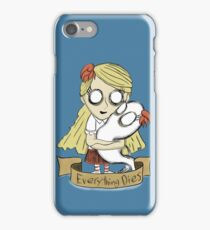 Wendy, Don't starve iPhone Case/Skin