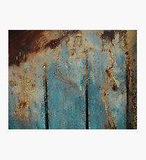 Abstract Peat Landscape No3, Ireland. Photographic Print