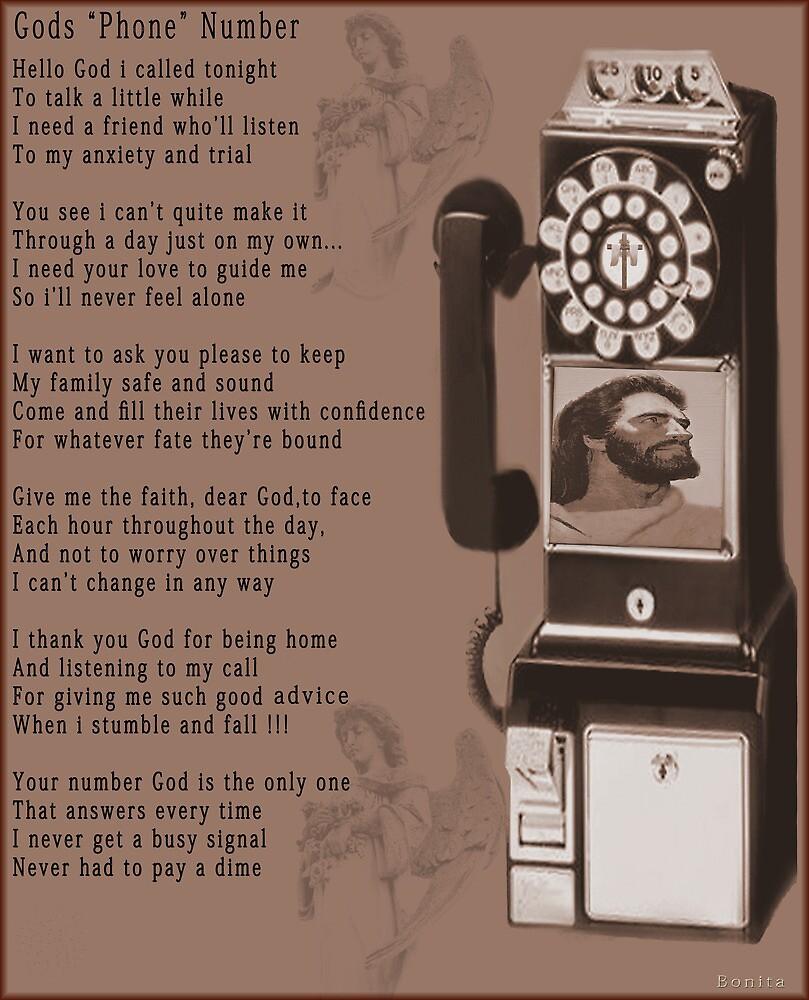 "† ❤ † ❤ † God's "" Phone"" Number † ❤ † ❤ † by ✿✿ Bonita ✿✿ ђєℓℓσ"