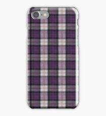 Purple Tartan iPhone Case/Skin