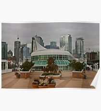 Canada Place B.C.Canada Poster