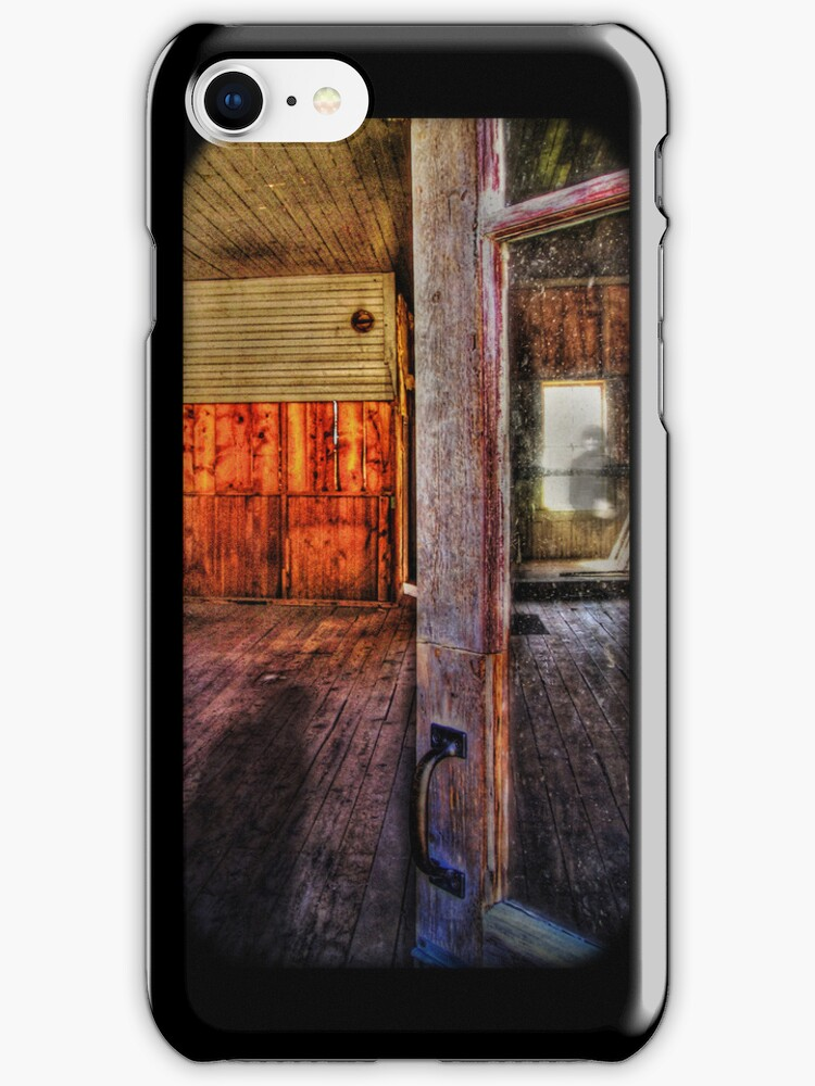 Haunted iPhone Case by Lisa Knechtel