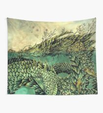 River Dragon Wall Tapestry