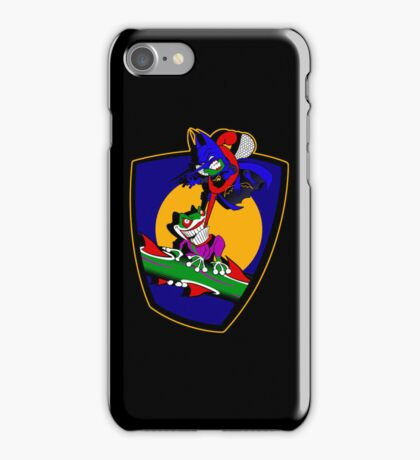 Gnatman vs The Croaker iPhone Case/Skin