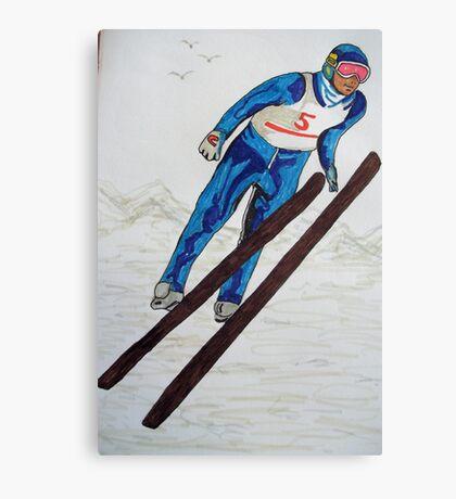 The Ski Jump Canvas Print