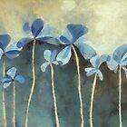 Blue Flowers by Cynthia Decker
