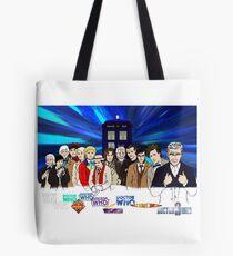 13 Doctors Tote Bag