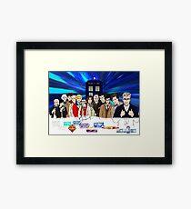 13 Doctors Framed Print
