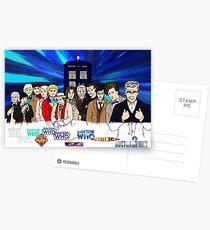 13 Doctors Postcards