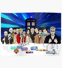 13 Doctors Poster