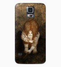 Alone - Sepia Case/Skin for Samsung Galaxy