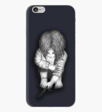Alone... B/W iPhone Case