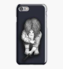 Alone... B/W iPhone Case/Skin