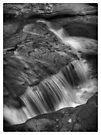 Below Adams Falls by Aaron Campbell