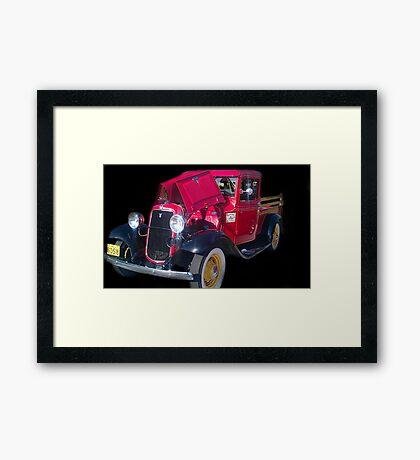 Hot Ride Framed Print