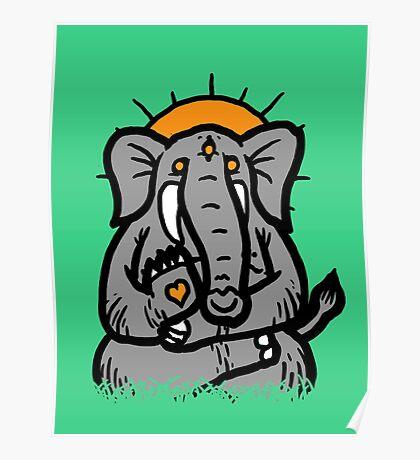 Spirit Elephant Poster
