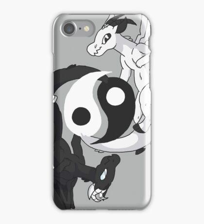 Yin & Yang Dragons iPhone Case/Skin