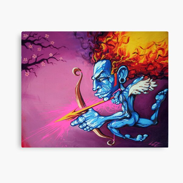Cupid of Passion Canvas Print
