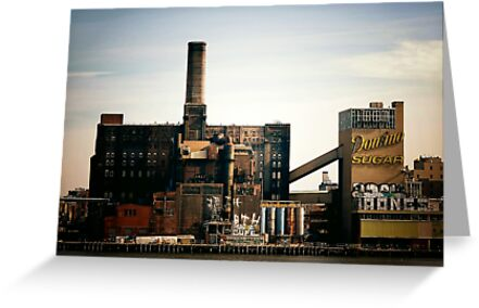 Sugar Factory - Brooklyn - New York City by Vivienne Gucwa