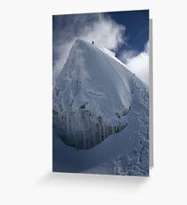 Island Peak Summit Greeting Card
