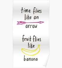 Fruit Flies Like Banana Poster