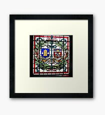 Two guilds: the clockmakers and the locksmiths Framed Print