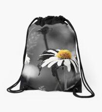 Daisies Field Drawstring Bag