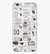 comic ad iPhone Case