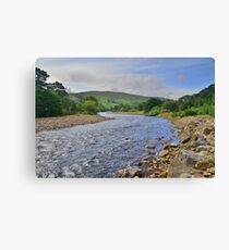 Yorkshire: The River Swale Canvas Print