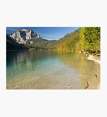 Lake Langbathsee Photographic Print