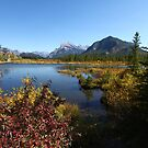 Vermillon Lake, Banff by helenlloyd