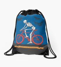 Hell On Wheels Drawstring Bag