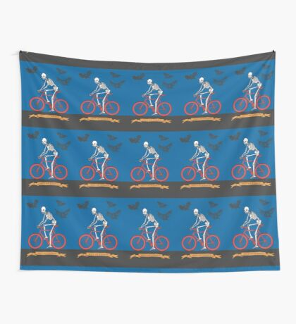 Hell On Wheels Wall Tapestry