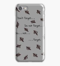 Remember the Silence 4 iPhone iPhone Case/Skin