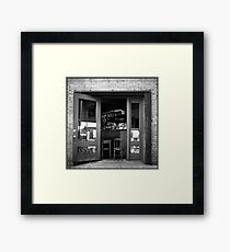 Woodward's Garden Framed Print