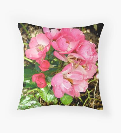 Governor General's rose 11 Throw Pillow